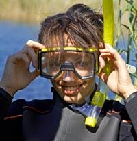 girl-diver