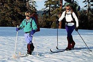 x-c-skiing